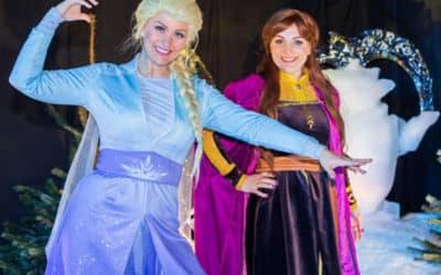Meet & Greet met Elsa en Anna