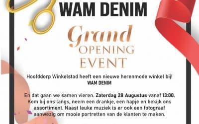 Grand Opening WAM Denim